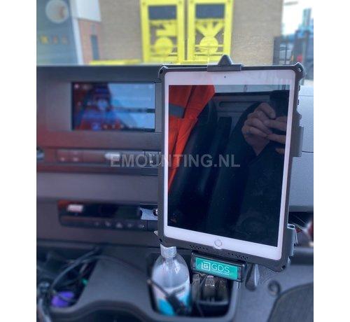 RAM Mount GDS® Vehicle Dock met iPad 10.2 IntelliSkin® schroefvaste bevestiging