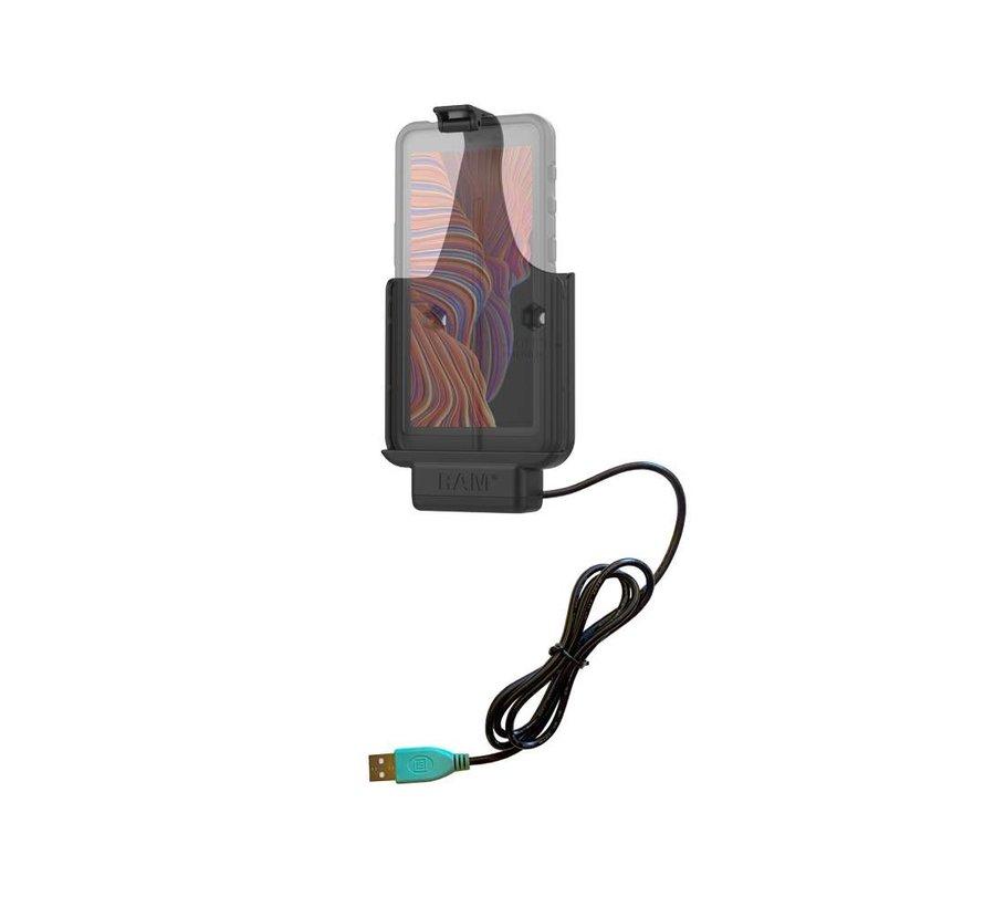 Powered Dock voor Samsung XCover 5 RAM-HOL-SAM79PU