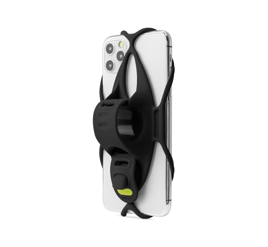 Bone Sports telefoonhouder fiets stuurstang - Universeel- Bike Tie 4 + Power Strap
