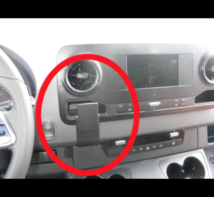 Mercedes Sprinter - Proclip 855442  met X-Grip large smartphonehouder