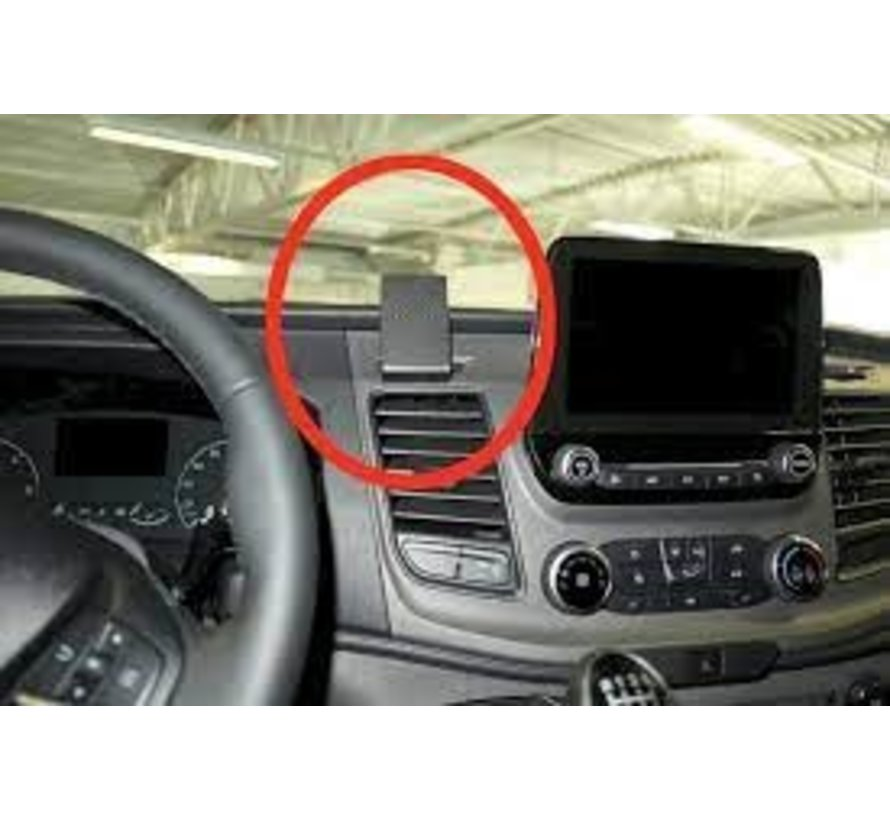 Ford Transit Custom - Proclip 855499  met X-Grip large smartphonehouder