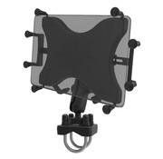 """RAM Mount Dubbele Stangbeugel Heavy-Duty X-Grip 10"""" tablethouder"""