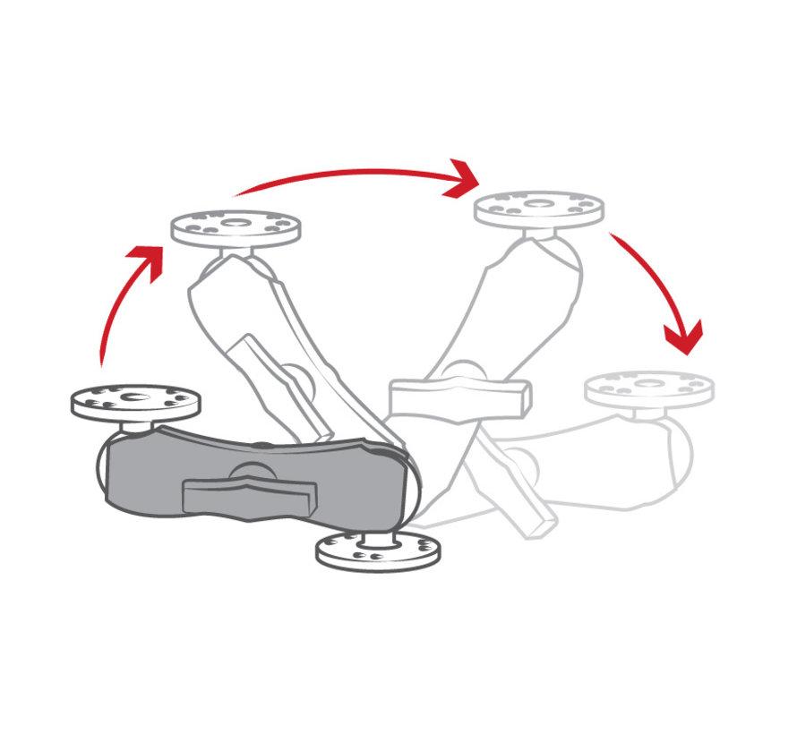 RAM-201U montage klemarm