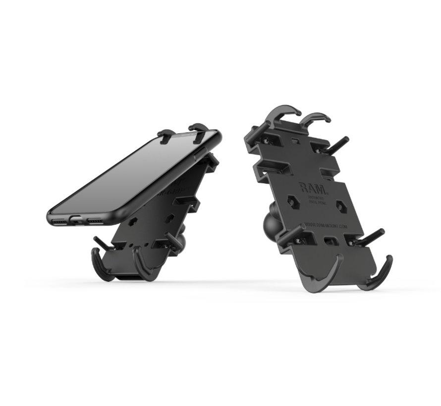 Quick-Grip™ klemhouder smartphones XL stangbevestigingset RAM-B-149Z-PD4U