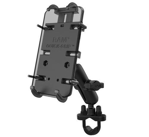 RAM Mount Quick-Grip™ klemhouder smartphones XL stangbevestigingset RAM-B-149Z-PD4U