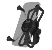 RAM Mount X-Grip® Large telefoonhouder met RAM® Tough-Strap™ stuurbasis  RAP-460-UN10U