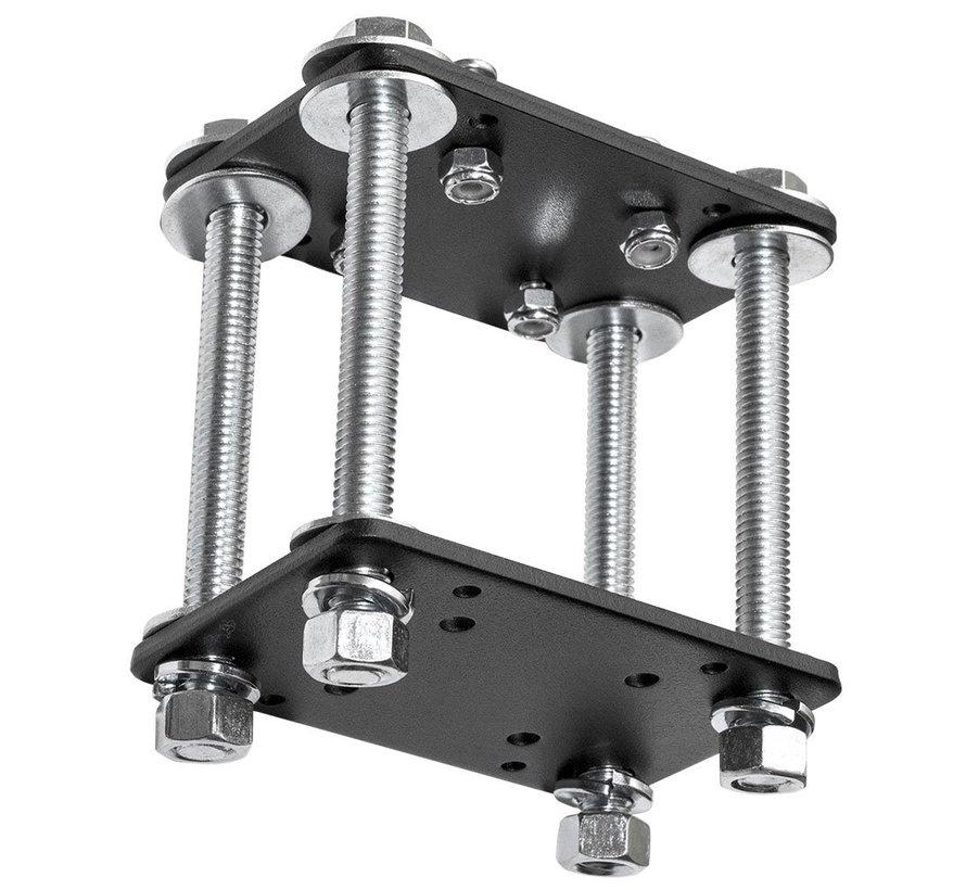 Kunststof  locking Tablethouder met heftruckkooi bevestiging