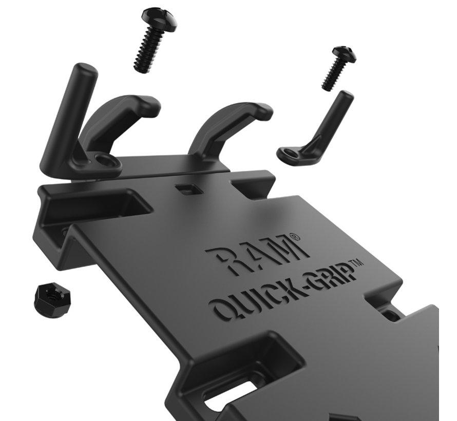Quick-Grip™ klemhouder smartphones XL Torque stangbevestigingset RAM-B-408-75-1-A-PD4U