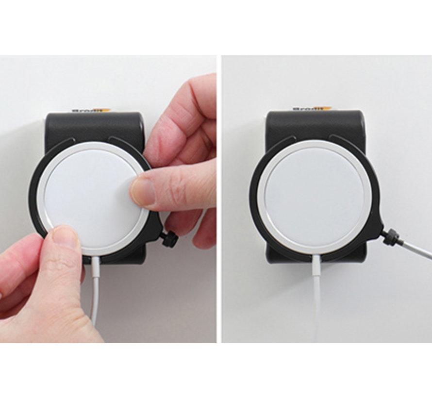 houder Apple MagSafe Charger swivel/sig.plug iPhone 12/13