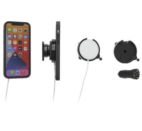 Brodit houder Apple MagSafe Charger swivel/sig.plug iPhone 12/13