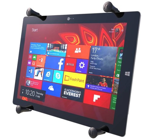 RAM Mount X-Grip 12 inch iPad Pro Tablet Houder