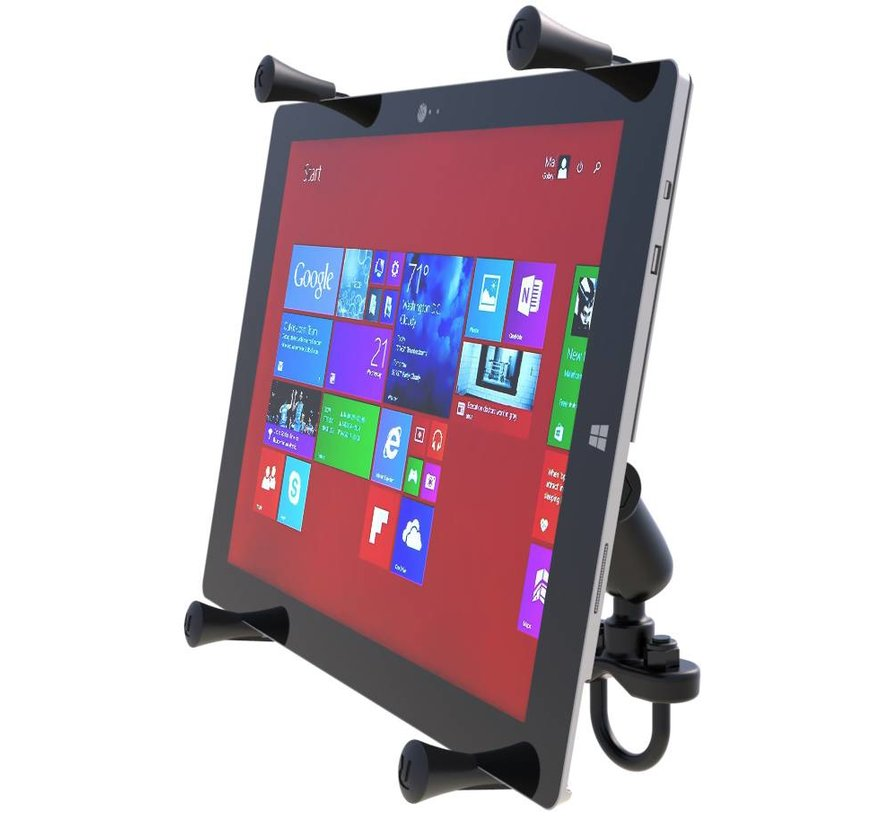 X-Grip 12 inch iPad Pro Tablet Houder stang montage