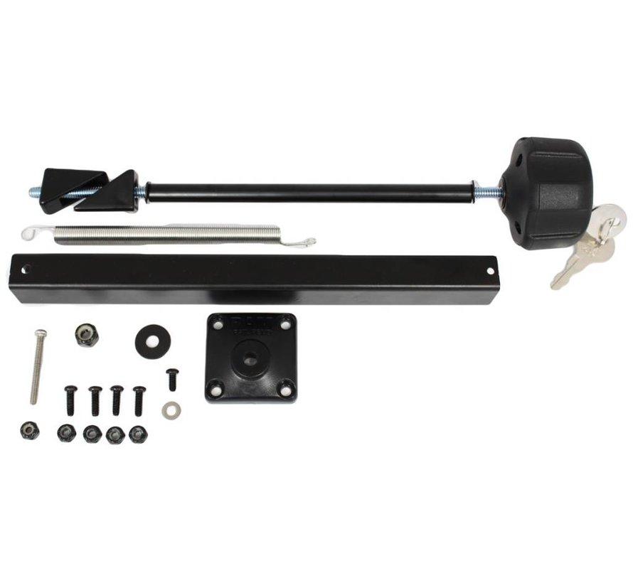 Safe-N-Secure™ Locking Kit RAM Tough-Tray™ (RAM-234-3)
