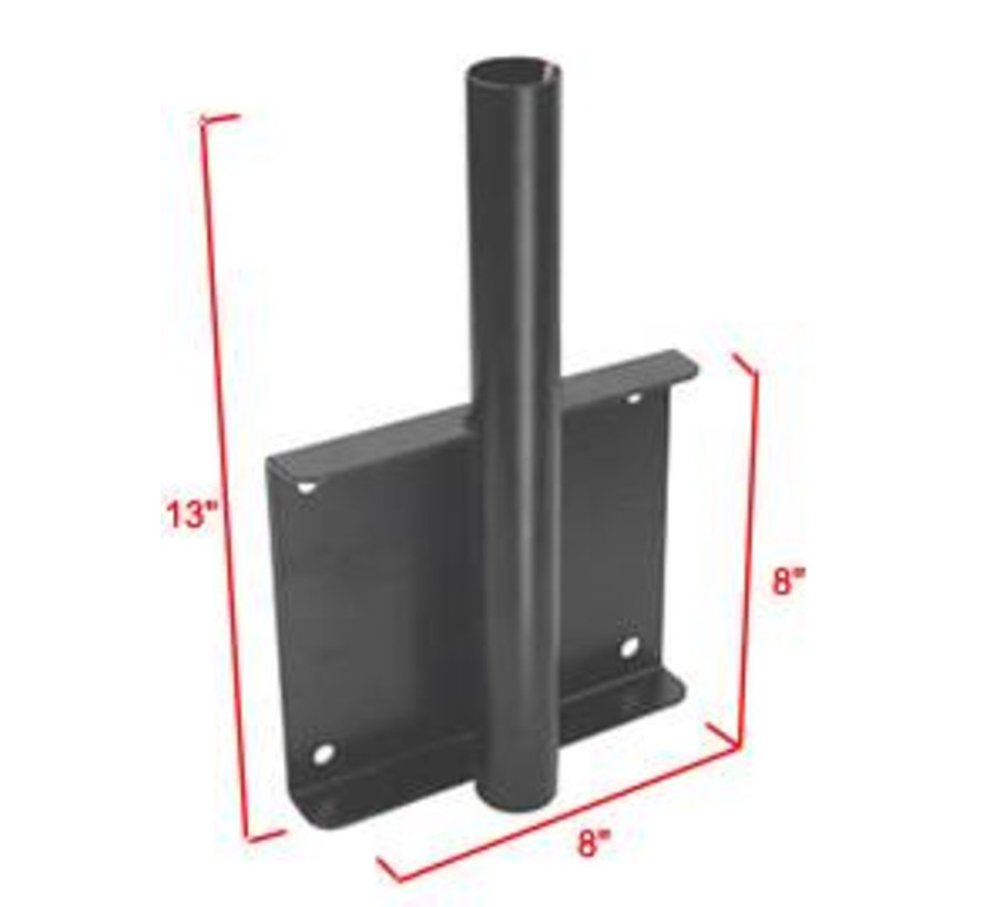 Universal Vertical Drill-Down Laptop Mount Base