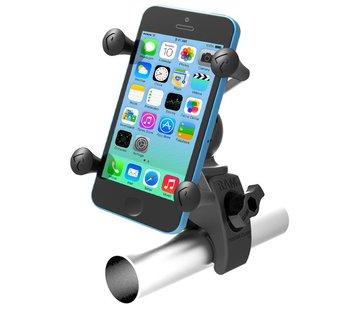 RAM Mount Low-profile Tough- Claw™ en Phone X-Grip™