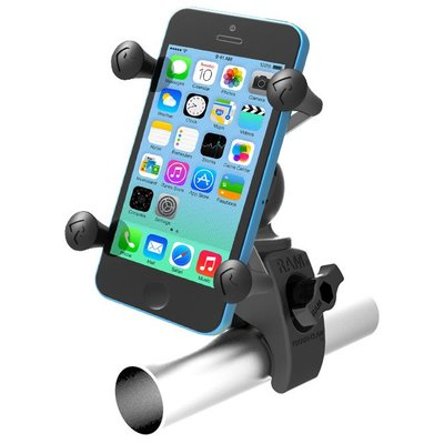 RAM Mount Tough-Claw™ Mount met universele X-Grip™ Phone houder