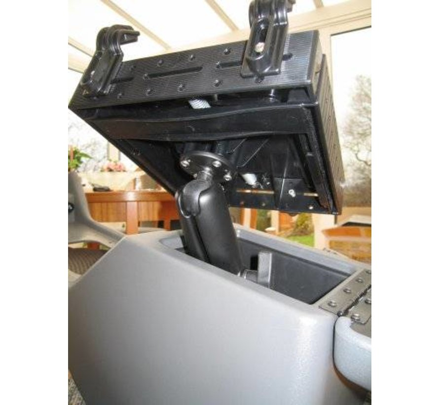 Laptophouder gebogen klemmen met schroefmontage RAM-101-234-3U