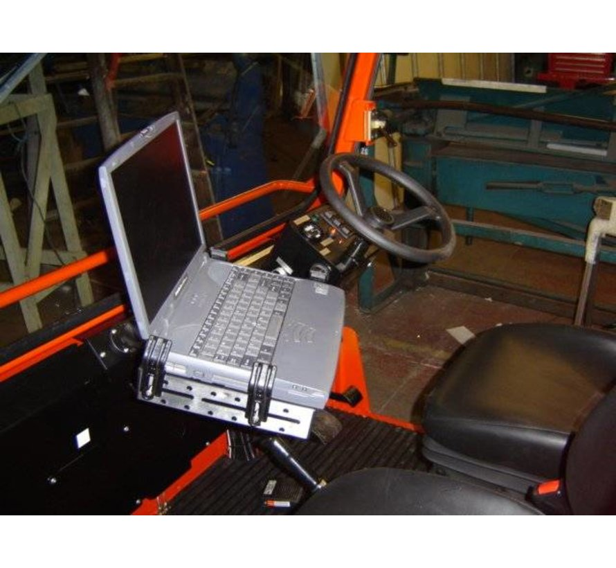 Laptop houder schroefmontage