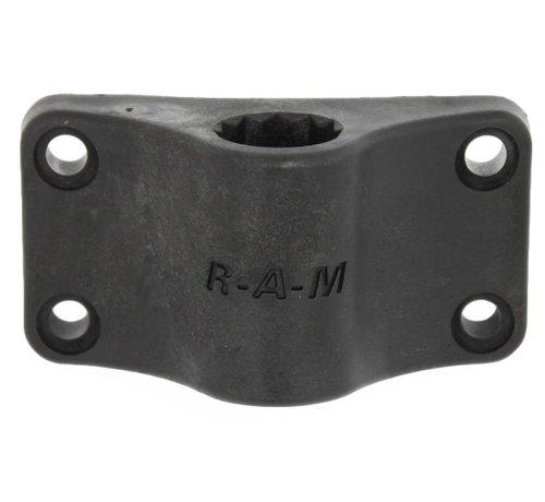 RAM Mount ROD™ Bulkhead Vertical Base for Spline Posts
