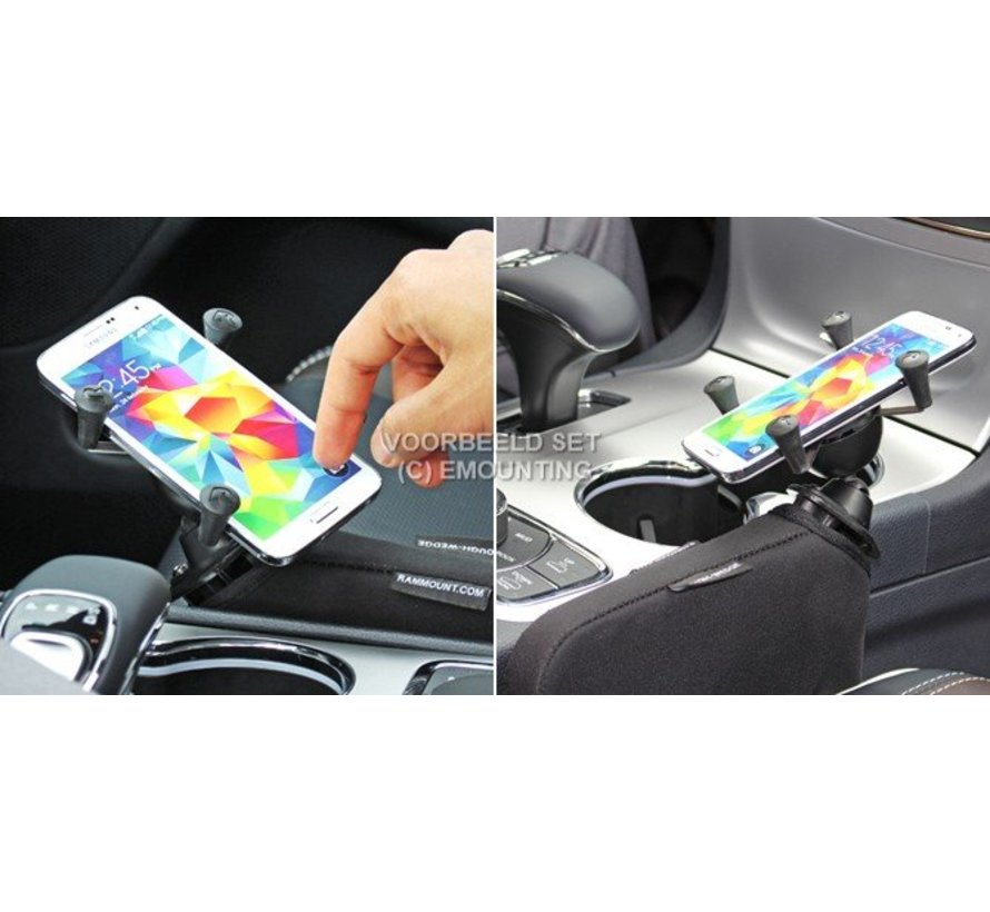 Seat Tough-Wedge™ met smartphone X-Grip UN7BU