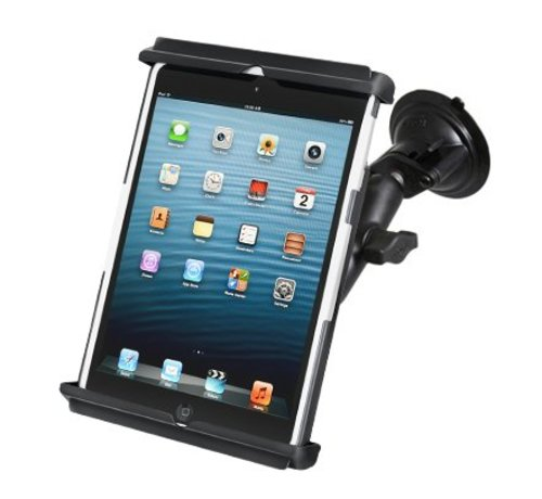RAM Mount iPad Mini zuignap bevestiging met hoes