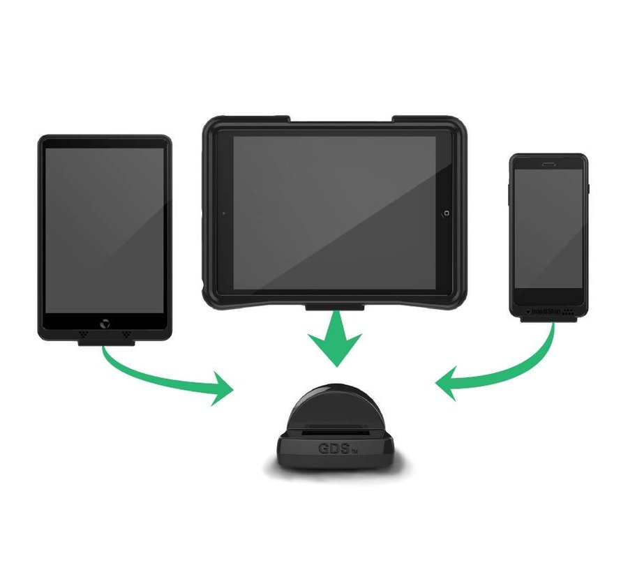 Desktop Dock Charger with GDS Technology voor IntelliSkin