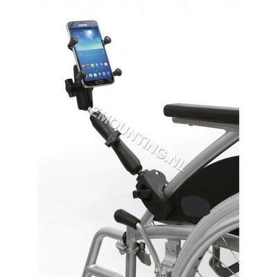 RAM Mount Smartphone Tough-Claw rolstoelarm