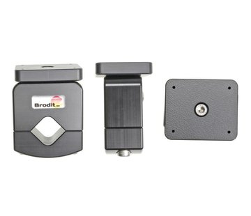 Brodit Buismontage Mounting plate 19-30mm.
