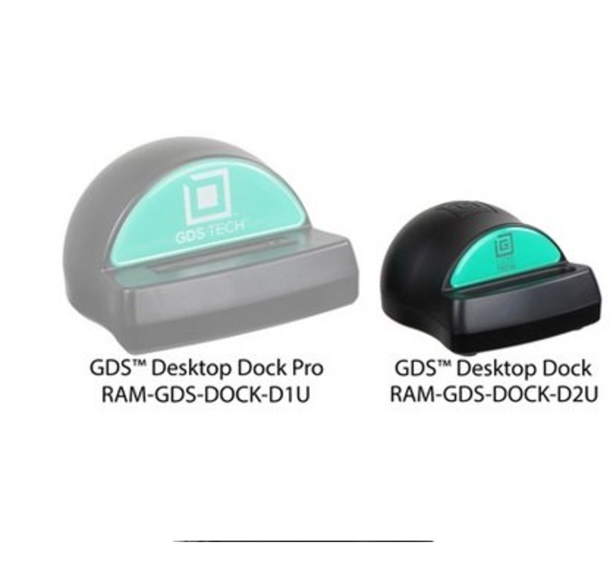 Desktop Dock Charger with GDS™ Technology for RAM IntelliSkin™ Products