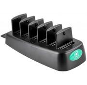 RAM Mount Desktop 6-poorten oplader met GDS™ Technologie voor RAM IntelliSkin™ producten