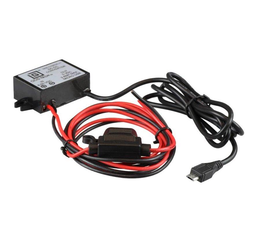 Reductie converter A, 5V met USB Micro USB stekker