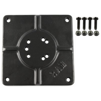 """RAM Mount 6"""" X 6"""" BASE PLATE WITH 11 HOLES"""