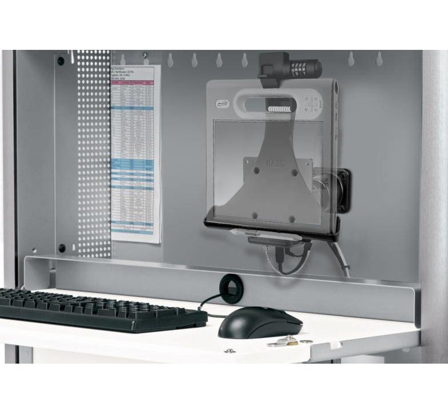 Swivel Pivot VESA mount voor horizontale montage