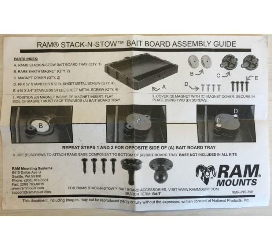 STACK-N-STOW™ Bait Board RAP-395U