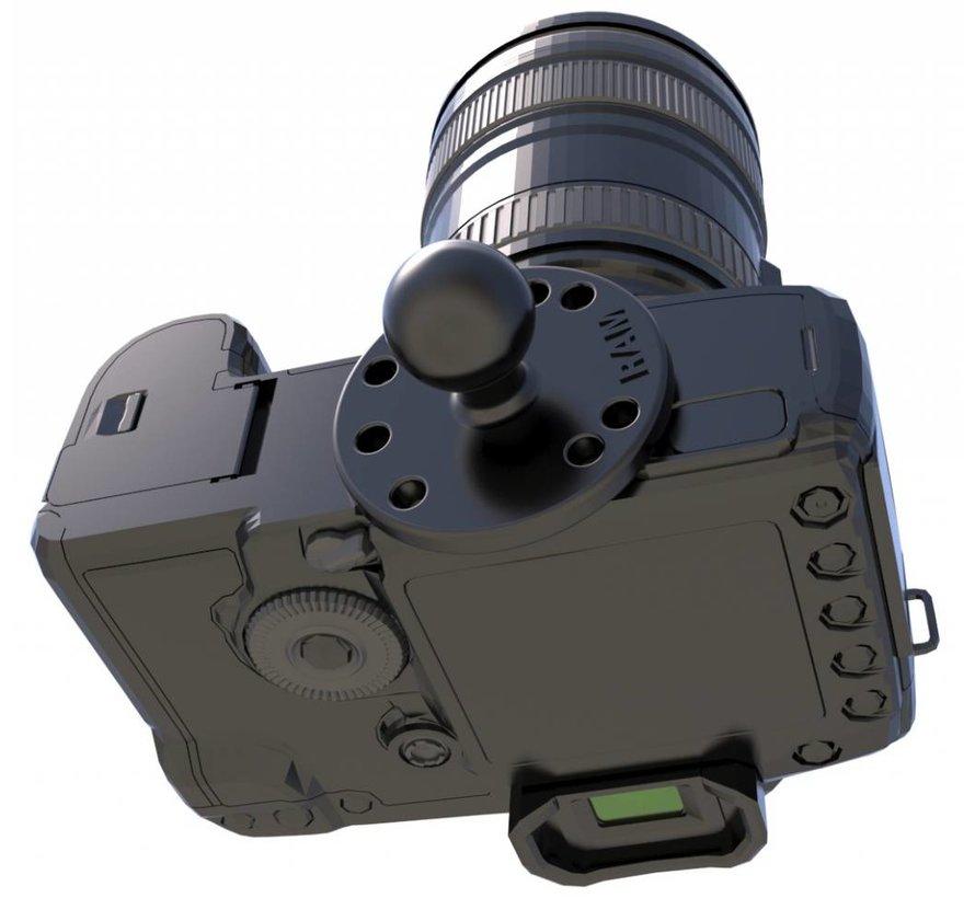 B-Kogel alu voor camera montage
