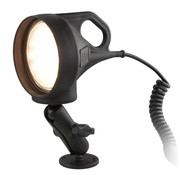 RAM Mount Spatwaterdichte LED Spotlight met klemhouder set