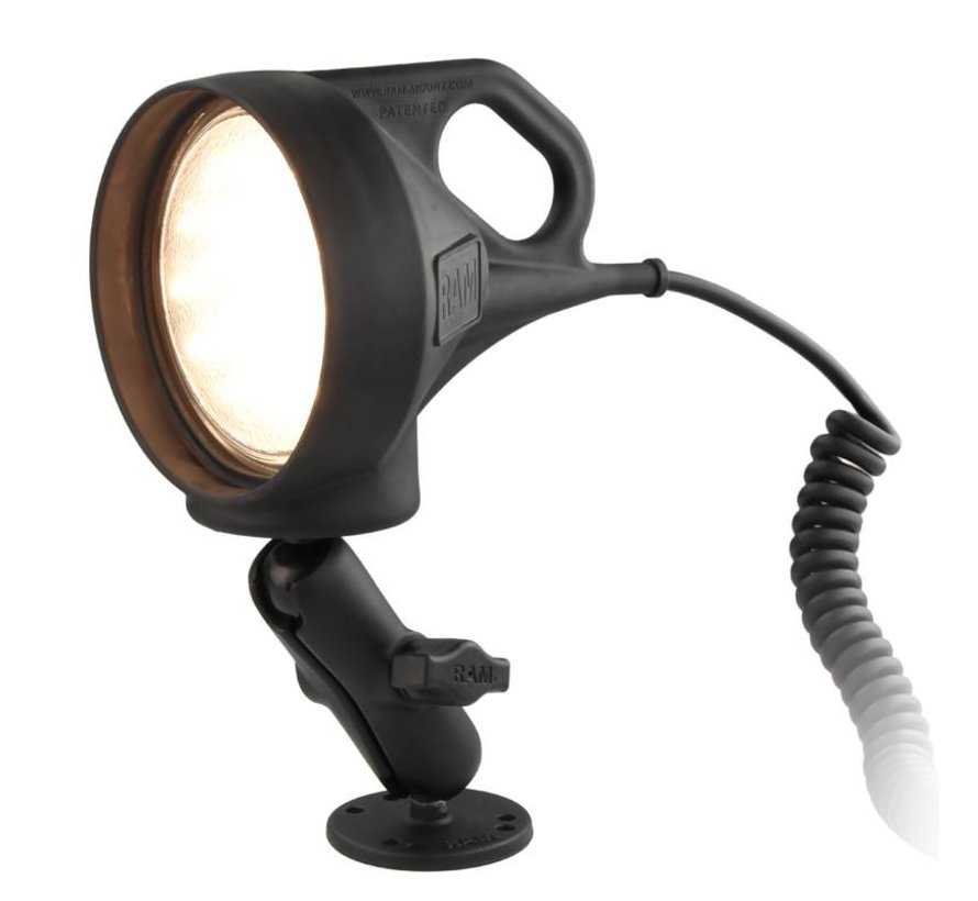 LED Spotlight met Klemhouder, complete set