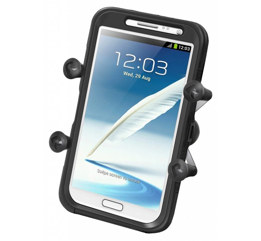 Universal X-Grip™ for Large Phones/Phablets -Snap-Link™ Socket