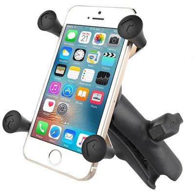 RAM Mount X-Grip smartphone met klemarm