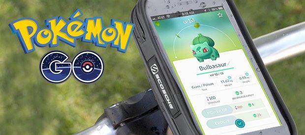 Pokémon trainers opgelet: Vang Pokémon handsfree op de fiets