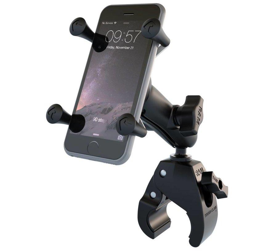 Tough-Claw Smartphone stangmontageset medium klemhouder