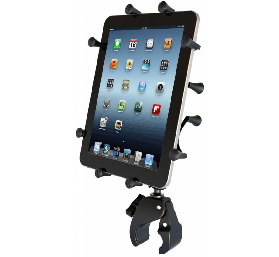 Tough-Claw 10 inch tablet X-Grip stangbevestiging