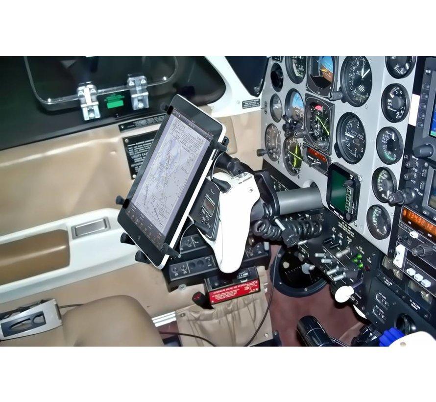 X-Grip 10 inch tablet houder Yoke stangklem