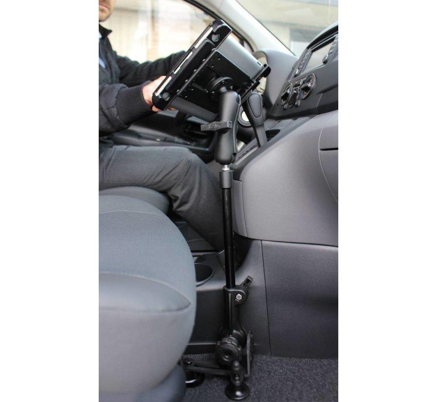 Verstelbaar statief auto stoelbout montage met X-Grip UN8BCU