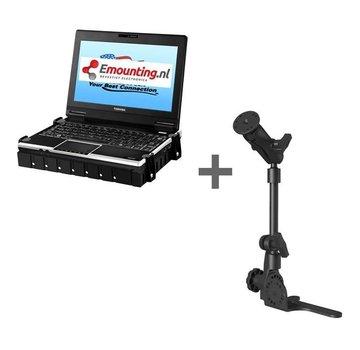 RAM Mount Universal No-Drill POD HD mount met netbookhouder