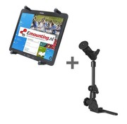 RAM Mount Universal No-Drill POD HD mount met 12 inch X-Grip tablethouder