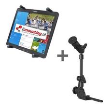 RAM Mount Universal No-Drill POD HD mount met 12 inch X-Grip tablethouder