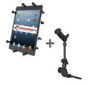 RAM Mount Universal No-Drill POD HD mount met 10 inch X-Grip tablethouder