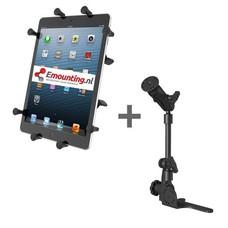 RAM Mount Universal No-Drill POD HD mount met 10 inch X-Grip tablethouder