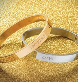 dance4life armband by NIKKIE - goud
